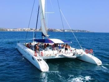 5-hour Catamaran excursion with barbecue